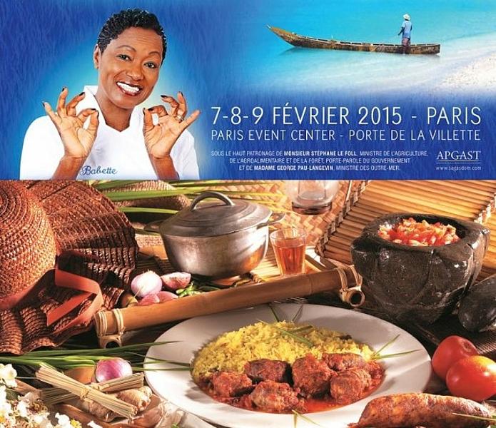La r union au salon de la gastronomie des outre mer en f vrier 2015 paris black - Salon de la gastronomie paris ...