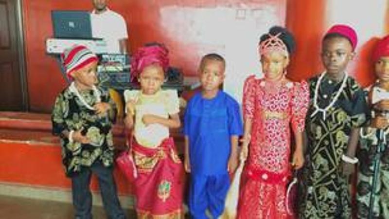 tenue locale nigériane