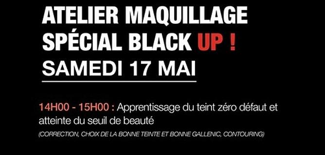 maquillage black up