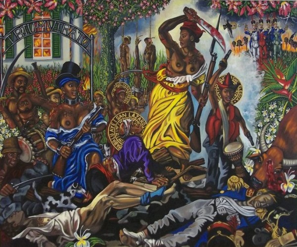 Carlota Leading the Slaves in Matanzas, Cuba, 1843,, Lili Bernard