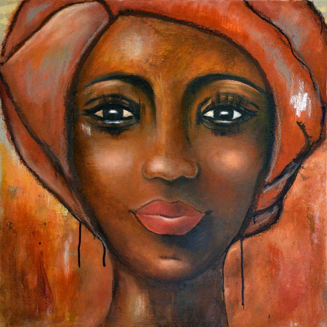 femme black m origine lierre