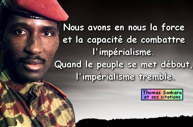 Thomas Sankara L âme De Fond De La Révolution La